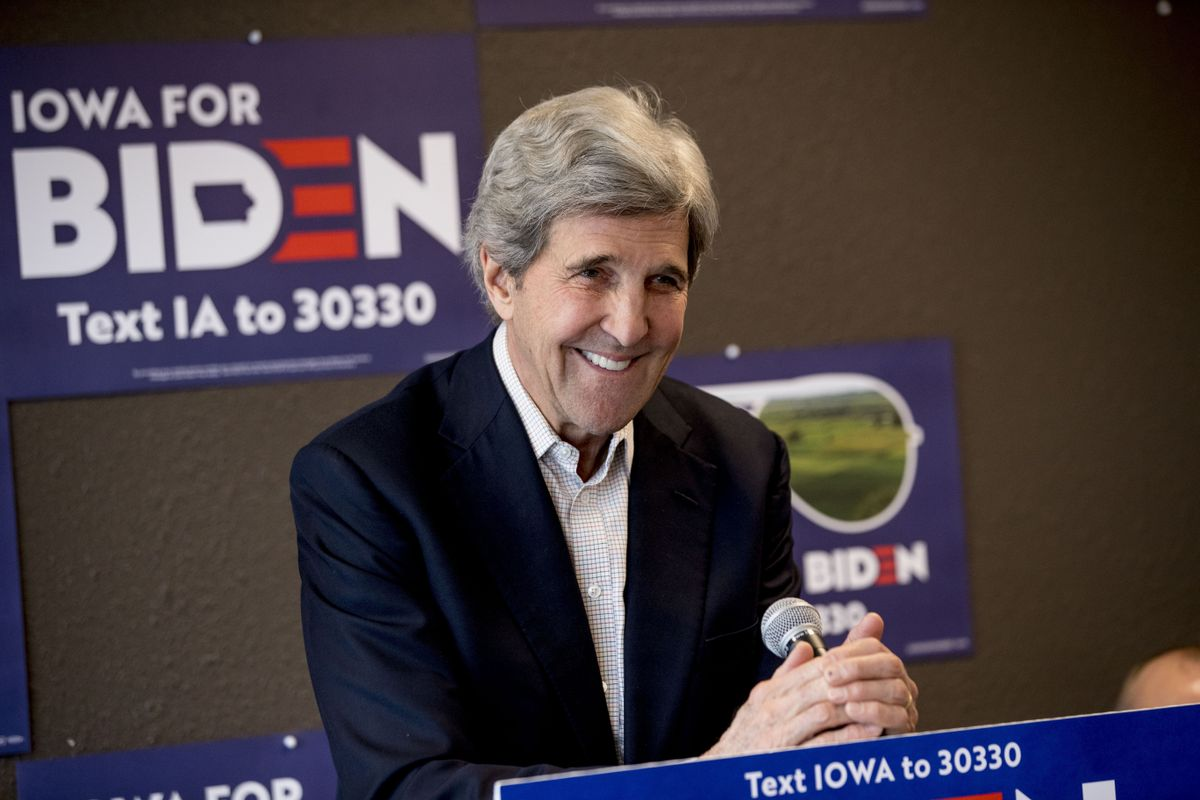 Biden names climate statesman John Kerry as climate...