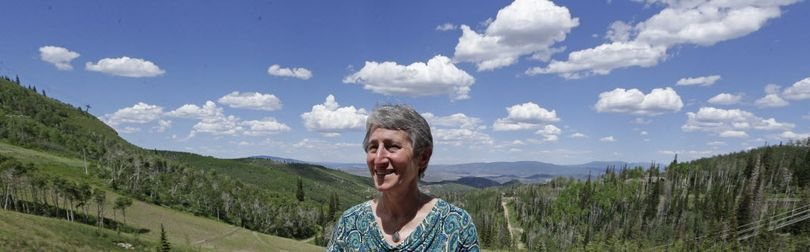 In this June 28, 2013 file photo, Interior Secretary Sally Jewell poses for photographers during the Western Governor's Association meeting, in Park City, Utah. A deadline Utah set for the federal government to hand over 31 million acres of public land quietly passed this week with no such transfer, something predicted by both critics and supporters of the state's push for control. (Associated Press)