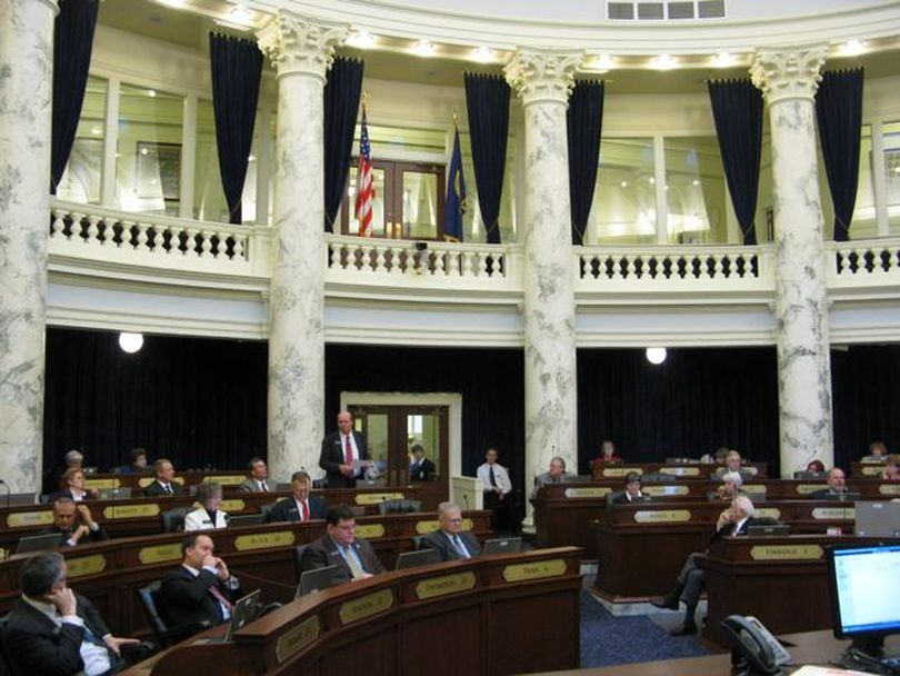 The Idaho House agrees, by unanimous consent, to send the