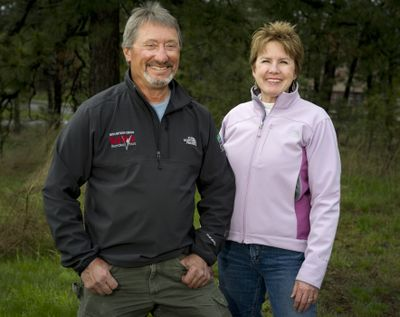 Gino Lisiecki and Wendy Zupan-Bailey operate Round and Round Productions, which has organized many of the region's participatory events, including Tour des Lacs and the Memorial Day Weekend 24-hour mountain bike race in Riverside State Park. (Colin Mulvany)