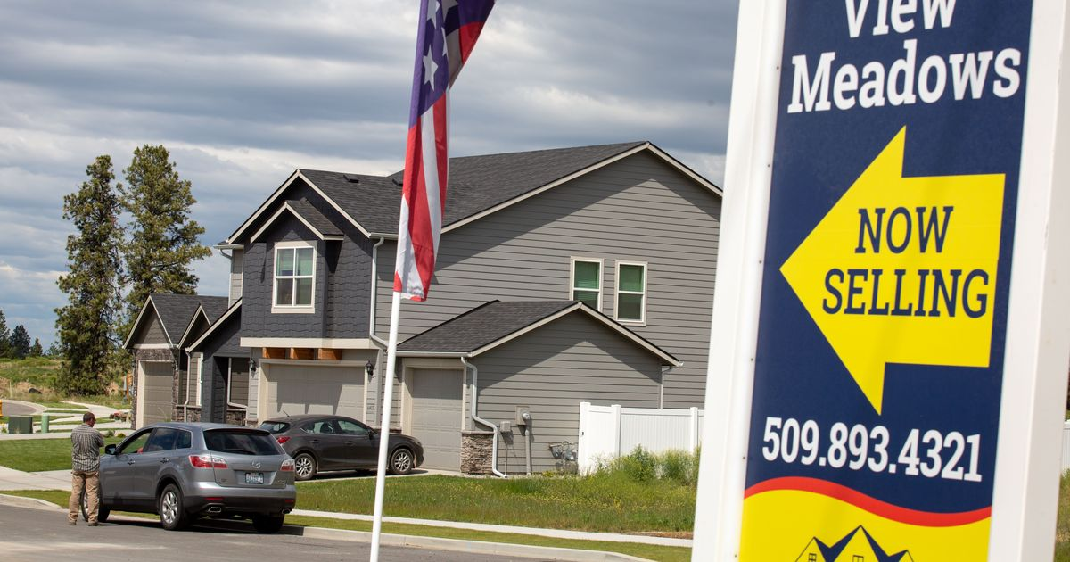 Spokane County's median home price continues record-breaking surge – $375,500 in May