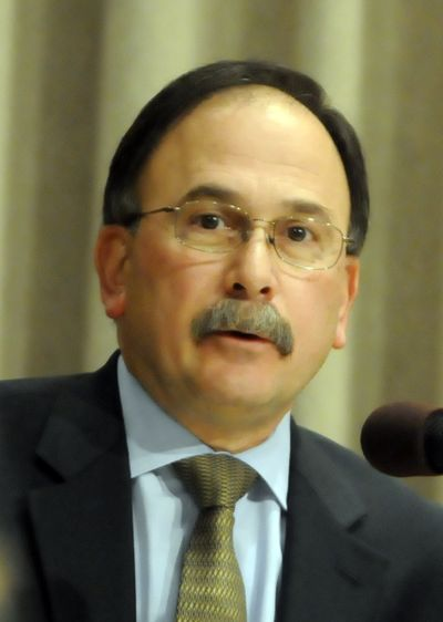 Assistant City Attorney Rocky Treppiedi, shown in 2009, was fired Monday by City Attorney Nancy Isserlis. (File)