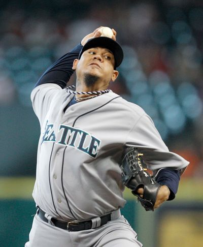 Mariners' ace Felix Hernandez has not lost a game since May 25. (Associated Press)