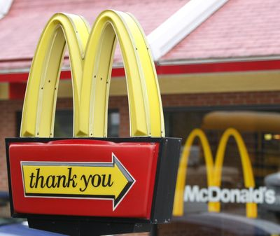 McDonald's on Tuesday said a key sales figure declined 3.3 percent in the U.S., marking the fourth straight quarter of declines for the hamburger chain. (Associated Press)