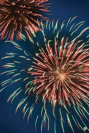 Public fireworks are a thrill to watch.  (Metrocreative / The Spokesman-Review)