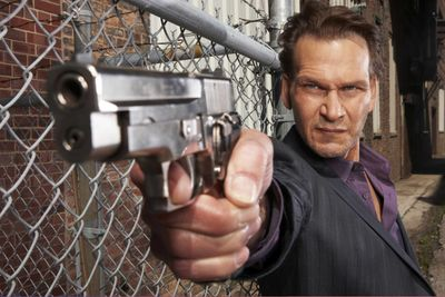 """Patrick Swayze stars as an FBI agent in  the A&E series """"The Beast.""""  (Associated Press / The Spokesman-Review)"""