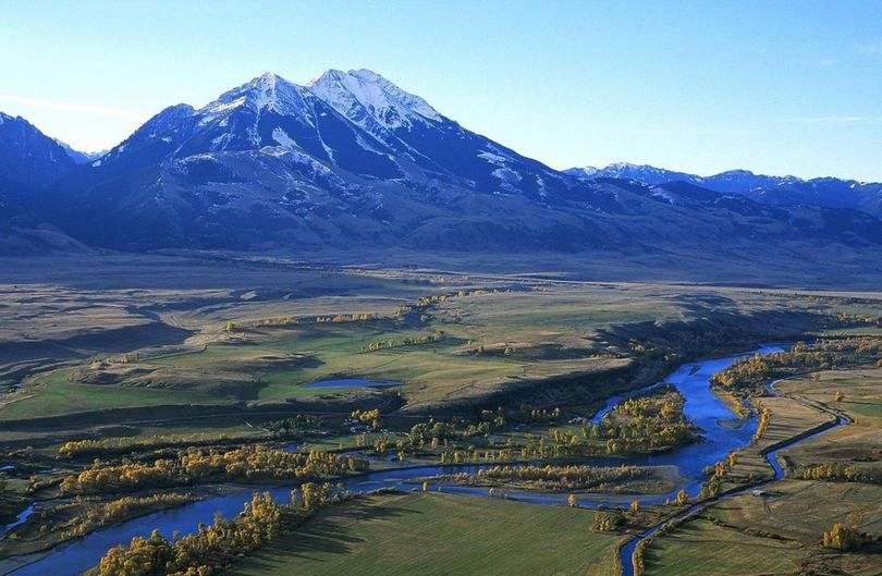 Yellowstone River upstream between Livingston and Yellowstone National Park. (Associated Press)