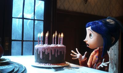 Coraline is voiced by Dakota Fanning. Focus Features (Focus Features / The Spokesman-Review)