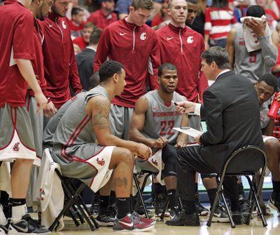 WSU men's basketball coach Ken Bone and A.D. Bill Moos will meet next week. (Associated Press)