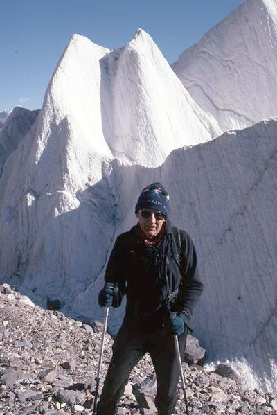 Dr. Richard Byrd hiked to the K2 base camp several years ago.