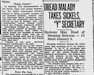 This rare disease had recently shown up with more frequency around the world, and researchers were baffled. (Spokane Daily Chronicle archives)