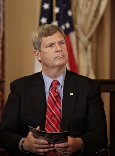 "Agriculture Secretary Tom Vilsack says he will protect the ""USDA Organic"" label. (The Spokesman-Review)"