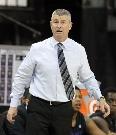 Boise State basketball coach Leon Rice has interviewed for the head coaching position at Washington State. (Isaac Brekken / Fr159466 Ap)