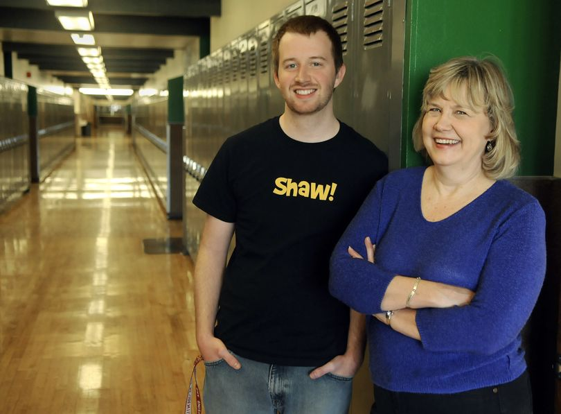 Austin Long and his mother, Ann Long, are both graduating from Eastern Washington University this Saturday. (Dan Pelle)