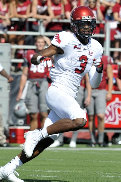 Eastern Washington University receiver Greg Herd has found plenty of success as a wideout. (Jesse Tinsley)