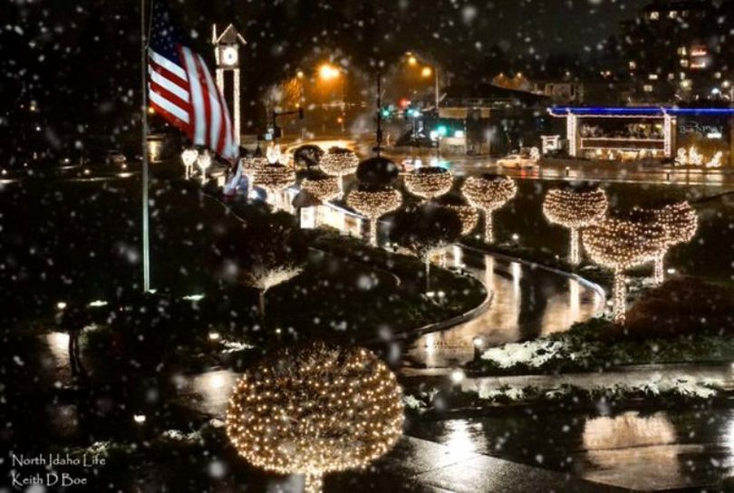 Photographer Keith Boe, of Post Falls, posted this photo of Christmas at the Coeur d'Alene Resort on the IdahoPanhandler.com Facebook page.