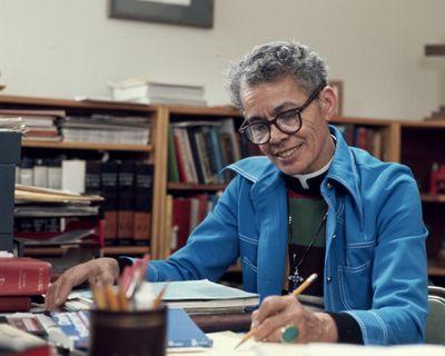 "Poet, activist, legal scholar, teacher and Episcopal priest Pauli Murray is the subject of the documentary ""My Name Is Pauli Murray.""  (Amazon Studios)"