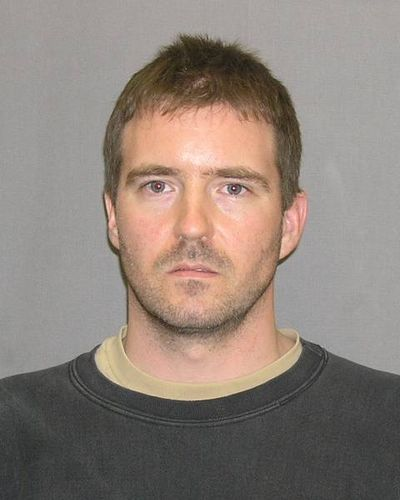 MLK bomb suspect Kevin Harpham's booking photo from the U.S. Marshals Service.