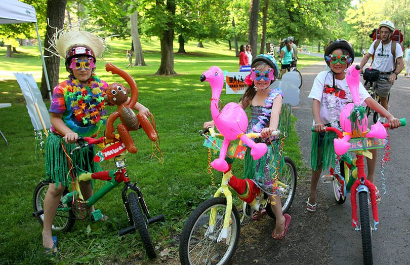 Faye Klein and other participants in the July Summer Parkways enjoyed themselves. The event returns Sunday, July 24 to the North Hill area.  (Courtesy photo)