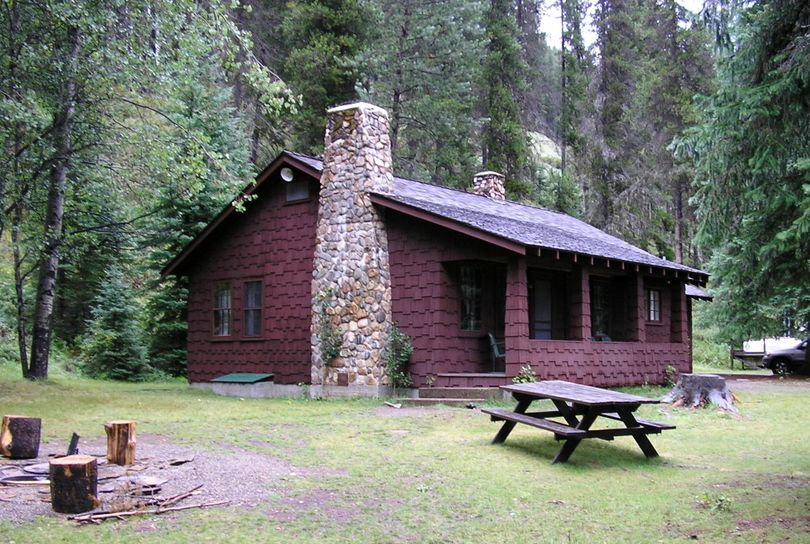 Red Ives Cabin on the St. Joe River District of the Idaho Panhandle National Forest. (U.S. Forest Service)