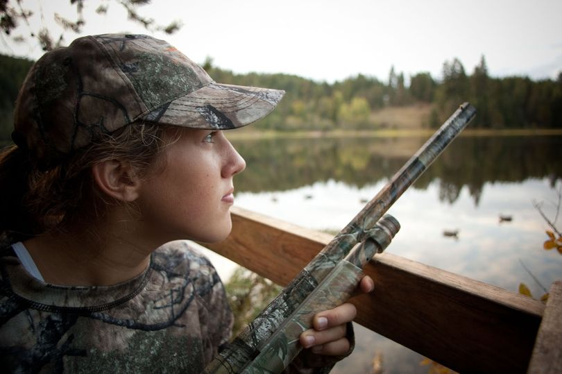 Hannah Strauss was 12-year-old Sandpoint Middle School student when she signed up for the an Idaho Department of Fish and Game youth waterfowl hunt at the Clark Fork Delta.
