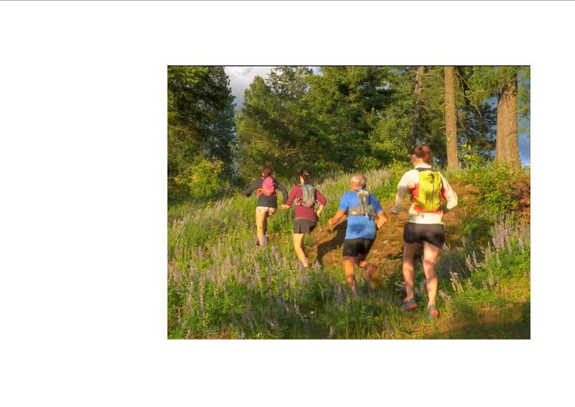 Trail runners in the Pine Street Woods near Sandpoint, Idaho. (Kaniksu Land Trust)
