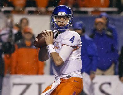 Boise State quarterback Brett Rypien threw for 207 yards against Colorado State. (Otto Kitsinger / Associated Press)