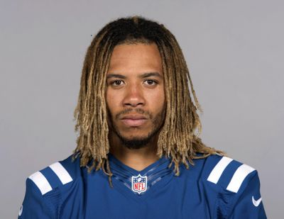 This June 13, 2017  photo shows Indianapolis Colts football player Edwin Jackson. (Associated Press)