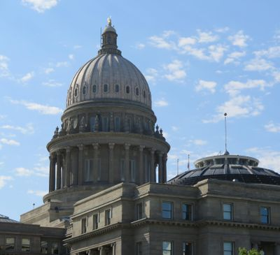 The Idaho state Capitol, shown on July 17, 2017. The Idaho Legislature has appointed a panel to study changes to the state's ethics and campaign finance laws; the group held its first meeting July 12, and will meet again Aug. 28. (Betsy Z. Russell)