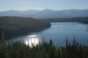 This photo released by The Nature Conservancy in June  2008 shows Holland Lake in the center of the Swan Valley, near Missoula. Plum Creek Timber, which owns the land, is moving into the real estate business, and a Forest Service proposal would make developing forestland into subdivisions easier.  (File Associated Press / The Spokesman-Review)