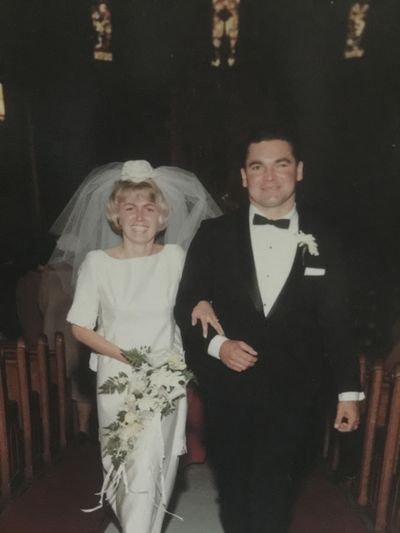 Dennis and Sharyn McCoy were married Oct. 29, 1966, at St. Aloysius Catholic Church in Spokane. (Courtesy of family)