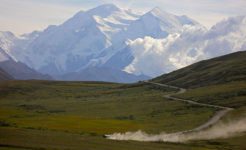 Wildlife, including wolves, is a main attraction for visitors in Denali National Park. (Associated Press)