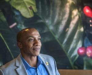 Spokane NAACP president Phil Tyler posted a video Wednesday in response to the officer-involved shooting Tuesday in Louisiana. On Thursday, Tyler expressed pain and anger again at the deaths of police officers during a protest in Dallas. (Dan Pelle / The Spokesman-Review)