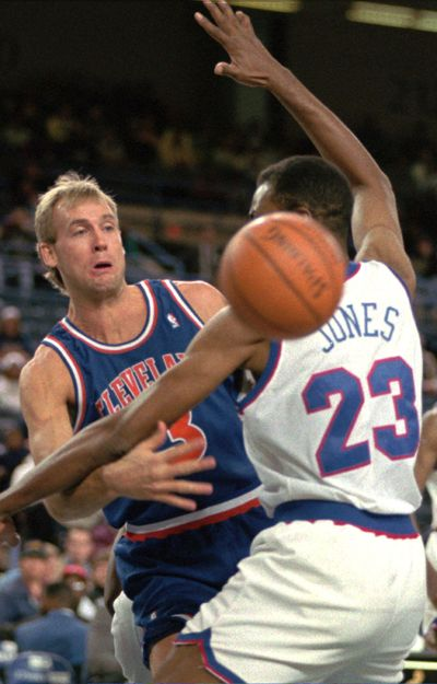 Craig Ehlo, who played 14 seasons in the NBA, is one of Jim Hayford's new assistants at EWU. (Ted Mathias / Associated Press)
