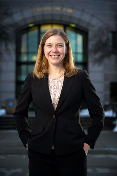 Vanessa Waldref will be the first female U.S. Attorney for Eastern Washington. She has focused on environmental law as an assistant us attorney.  (COLIN MULVANY/THE SPOKESMAN-REVIEW)
