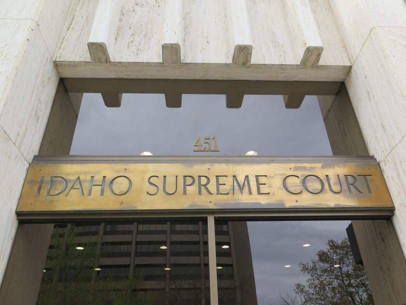 The Idaho Supreme Court building in Boise (Betsy Z. Russell)