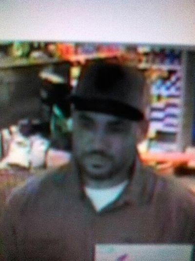 Bank robbery suspect (Spokane Police Department courtesy)