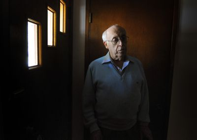At 72, Kenneth Lalonde can't move into a retirement community until the housing market recovers enough for him to sell his South Hill home.  (Colin Mulvany / The Spokesman-Review)