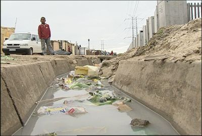 """Pictured is a squatter drain that is shown in filmmaker Jim Thebaut's documentary, """"Running Dry.""""Courtesy of Jim Thebaut (Courtesy of Jim Thebaut / The Spokesman-Review)"""