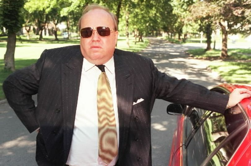 Convicted bank swindler John Earl Petersen is pictured in 1997. (Dan McComb/The Spokesman-Review)