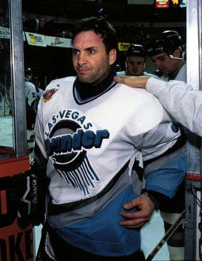 Former Buffalo Sabres goalie Clint Malarchuk suffered an injury similar to that of Richard Zednik in 1989. The Sporting News  (The Sporting News / The Spokesman-Review)