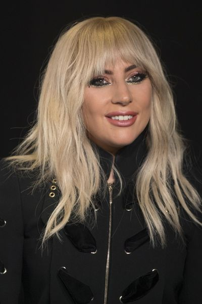 Lady Gaga appears at the press conference for