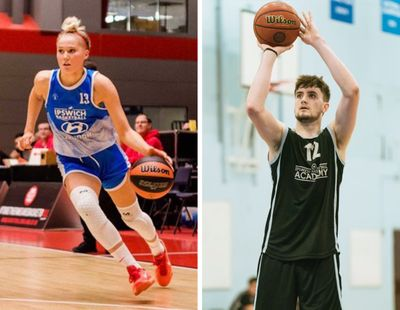 Gonzaga recruit Esther Little, left, and Eastern Washington recruit Ethan Price are coming to the Inland Northwest next season from England.  (Courtesy photos)