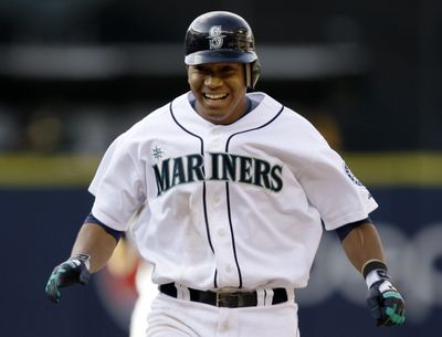 Jose Lopez delivered the game-winning hit for the Mariners for the second time in three days. (Associated Press / The Spokesman-Review)