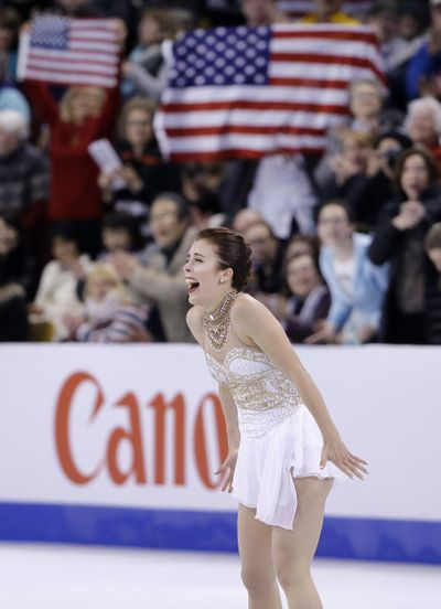 American skater Ashley Wagner has been added to Team North America's roster for the upcoming Team Challenge Cup at the Arena. (Associated Press)