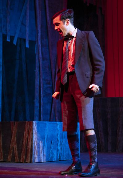 "Jonah Taylor, as Moritz, in Spokane Civic Theatre's production of ""Spring Awakening."" (Marlee Andrews)"