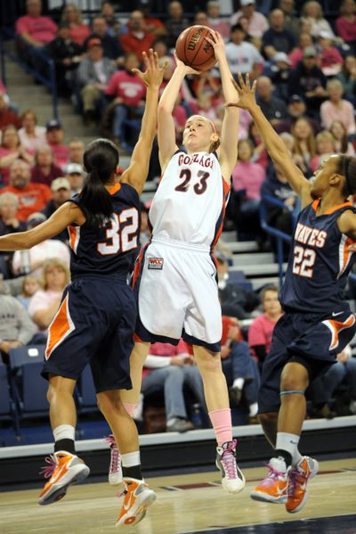 Katelan Redmon was West Coast Conference Player of the Week. (Jesse Tinsley)