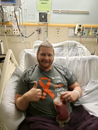 Jared Weeks, of Spokane, underwent a successful stem cell procedure in Seattle this week. (Courtesy)