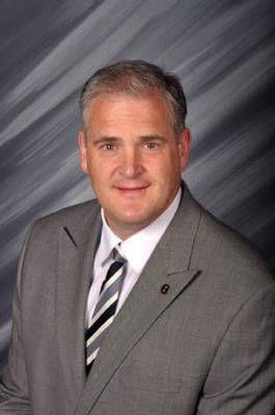 University of Idaho athletics director Rob Spear