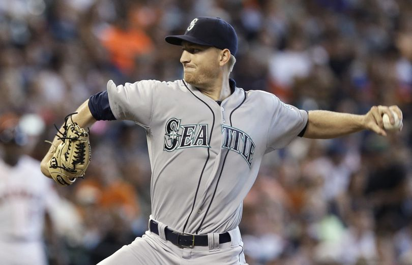 Mike Montgomery's first major league victory came in his eighth pro season. (Associated Press)